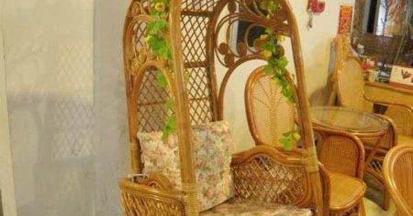 Esteras de coches muebles de mimbre silla de mimbre silla - Sillas colgantes interior ...