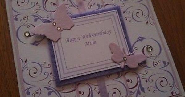 87 best images about Milestone birthdays – Handmade 30th Birthday Cards