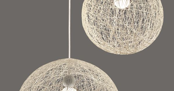 Kore Ambient LED Pendants With Labyrinth Orb Shades 100