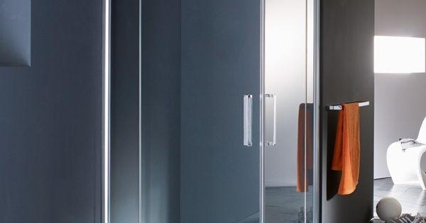 Moderne douchecabine in een badkamer moderne badkamers pinterest douchecabine badkamer en - Doucheruimte deco ...