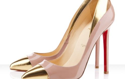 Christian Louboutin Duvette 120mm Nude Pumps Red Bottom Shoes
