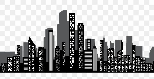 Gotham City Silhouette Png Clipart City Silhouette Gotham City Silhouette Png
