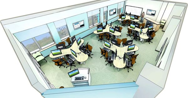 Classroom Design Cooperative Clusters ~ From carnegie mellon searching images computer table