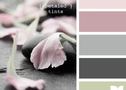 Love this color palette for Ava's room...the two pinks would be great