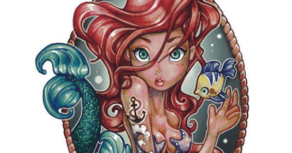 Disney tattoo designs by telegrafixs tattoo ideas for Princesas disney tattoo