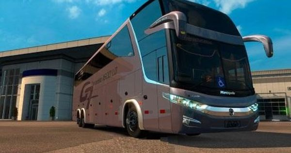Mod Bus Pack V1 Euro Truck Simulator 2 Mods