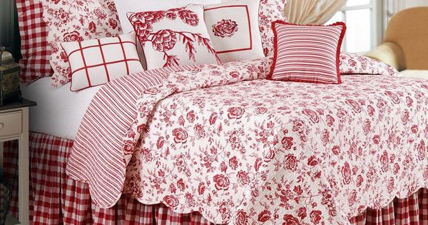 Williamsburg Devon Cranberry Bedding By Williamsburg