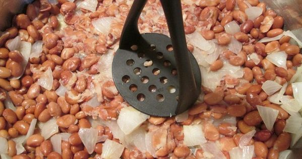 how to make homemade mexican refried beans