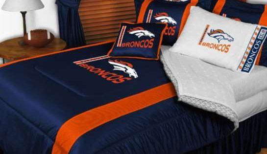 Denver Broncos Sidelines Comforter 68 15 Denver Broncos