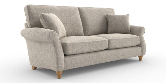 Buy Ashford Large Sofa 3 Seats Chunky Weave Dove Low Turned Light From The Next Uk Online Shop Large Sofa Sofa Small Sofa