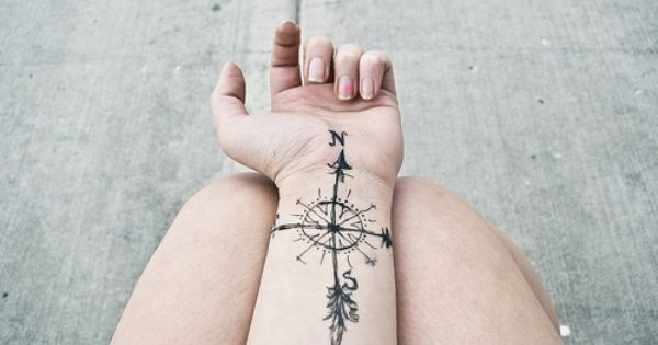 Image result for compass tattoo ideas
