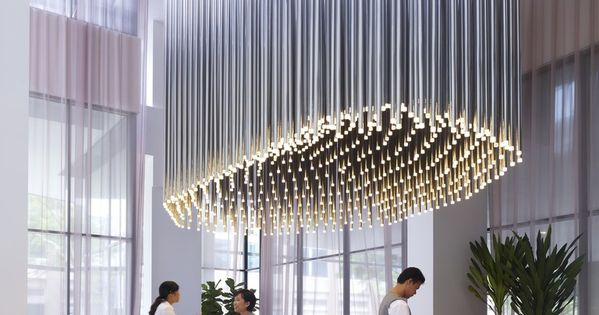 Hotel Reception Design: Studio M Hotel by Piero Lissoni sleek modern organic