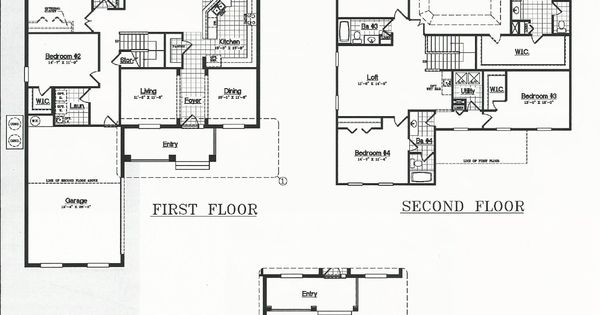 Summerlake Dr Horton Homes Wayside Floor Plan In Winter