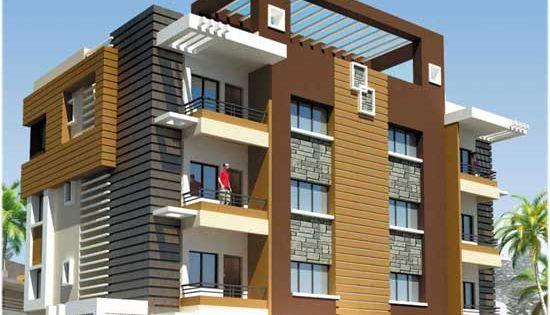 Front Elevation Makan : Modern apartment building elevations design pinterest