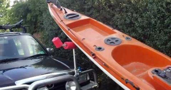 Diy Kayak Loader When You Have To Load A Long Heavy Kayak