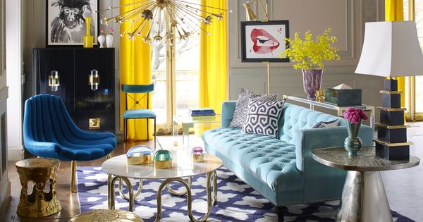 jonathan adler living room look to jonathan adler to luxe up your living room 13896