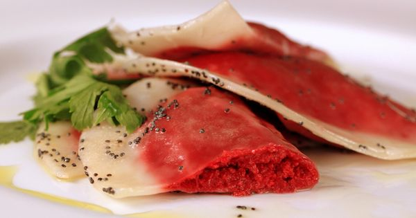 Ravioli, Beets and Poppies on Pinterest