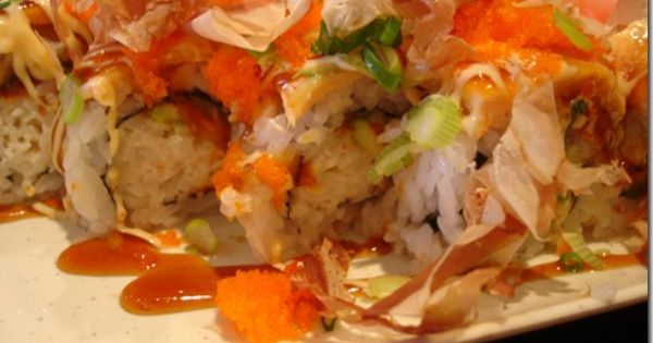 The Awesome Roll in Sushi Town. It is aptly named. | Omnomnom ...