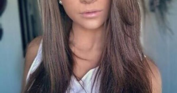 hair color for blue eyes and fair skin chocolate brown
