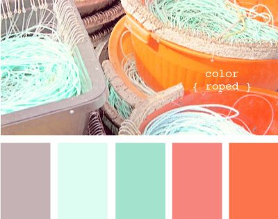 color roped- My room color scheme :)