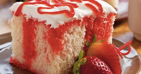 Strawberry Poke Cake Betty Crocker