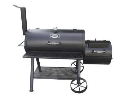 Smoke hollow deluxe barrel style smoker charcoal grill