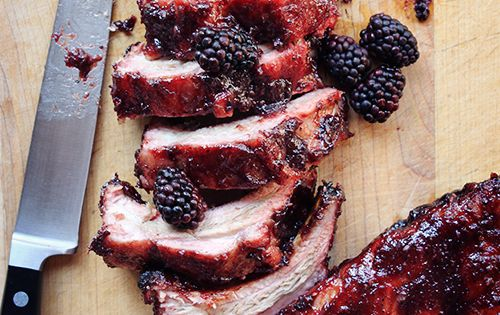 ribs in tomato sauce baked ribs with spicy blackberry sauce recipes ...