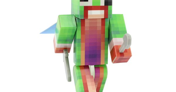 Unspeakable 4 Action Figure Toy Plastic Craft By Endertoys Awesome Products Selected By Anna Churchill Minecraft Toys Minecraft Decals Custom Figurines