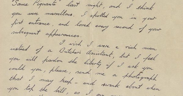 Old Love Letters From 1800s