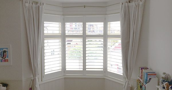 Shutters For Bay Windows By Plantationshutters London