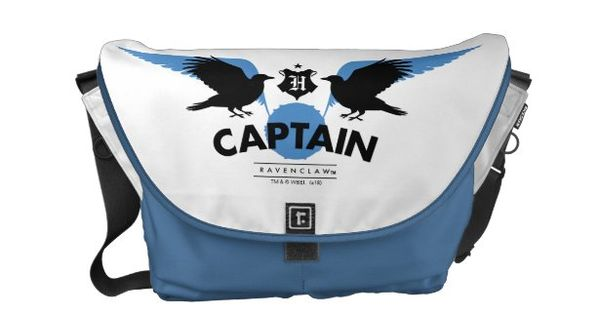 Harry Potter Ravenclaw House Quidditch Captain Small Messenger Bag Zazzle Com In 2020 Small Messenger Bag Messenger Bag Bags