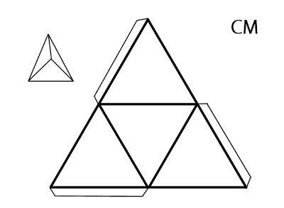 Educando Con Amor Cuerpos Geométricos Para Armar Cuerpos Geometricos Para Armar Figuras Geometricas Para Armar Piramide Para Armar