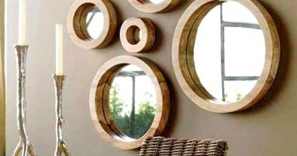 Conjunto de espejos redondos arquitectura y dise o de for Conjunto espejos redondos