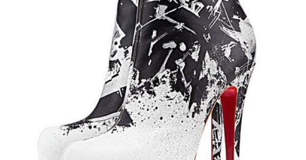Christian Louboutin Daf Booty Tag 160mm Leather Ankle Boots White. Only $135.00