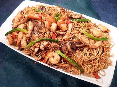 D couvrez la recette nouilles chinoises au poulet et for Cuisiner a la plancha