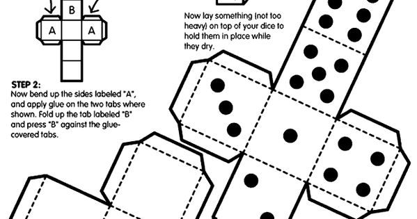 dice coloring pages - photo#24