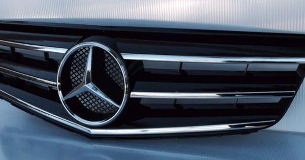 2008 2014 Mercedes C Class W204 C250 C300 C350 Sedan Black Grille