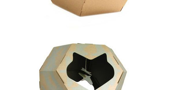 Geodome cat house cat products
