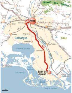 Map Of Salin De Giraud Office De Tourisme Tourisme Le Village