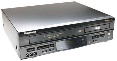 Panasonic Pv D4742 Dvd Vcr Combo Black Tv Accessories Sanyo Dvd