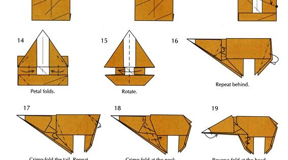 origami horse instructions advanced