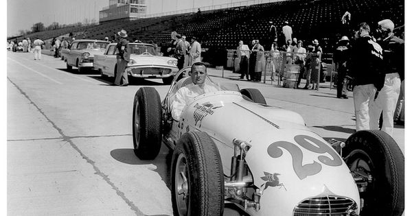 A j foyt 39 s 1958 indianapolis 500 rookie year by for Indianapolis motor speedway com
