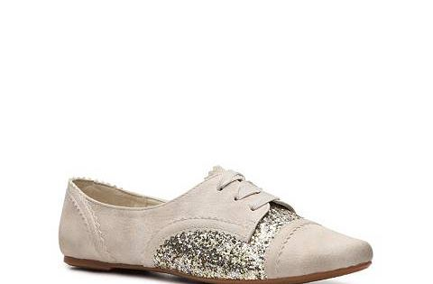 Sparkly Oxford Flats