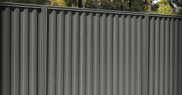 Sheet Metal Privacy Fence Fencing Fences Fence Posts