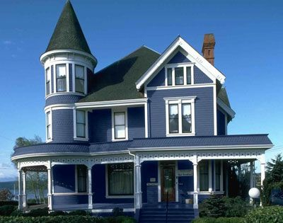 Exterior house colors blues only paint your house for Change the exterior of your house
