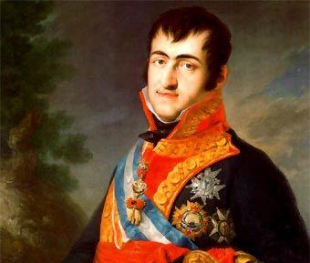 Biografia De Fernando Vii Fernando Vii Historia De España Selectividad Fernando Septimo