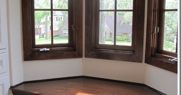 Bay Window Seat Cement Tile Floor House Interiors