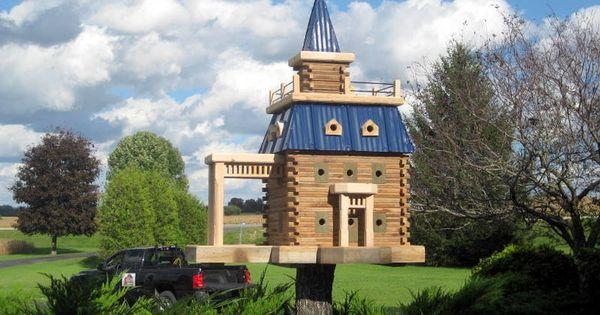 chateau oiseau cabanes d 39 oiseaux pinterest oiseaux ch teaux et mangeoire oiseau. Black Bedroom Furniture Sets. Home Design Ideas