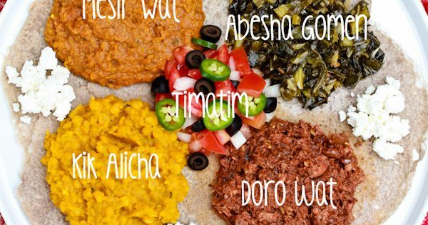 I love Ethiopia food! - How to Make an Ethiopian Feast, from