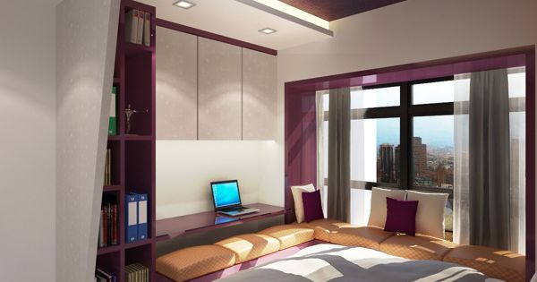 HDB 4 rooms Flat On Behance Small Apartment Pinterest